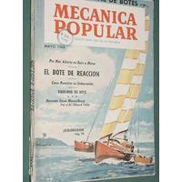Revista Mecanica Popular 5/60 Botes Nautica Kolumaran Anual