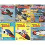 6 Revistas De Aeromodelismo En Ingles De Coleccion U. S. A.