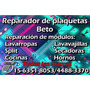 Reparador De Plaquetas De Hornos Lavarropas Lavavajillas Etc