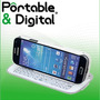Funda Teclado Bluetooth Slide Para Samsung Galaxy S3 / S4..