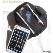 Funda Brazalete Deportivo Samsung Galaxy Note I, 2,3 + Otros