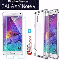 Funda Ringke Fusion Samsung Galaxy Note 4 100%original +film