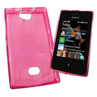 Funda Tpu Gloss Nokia Asha 503 Cover De Gel Rosa