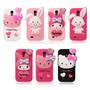 Funda Samsung Galaxy S4 Hello Kitty Importada Silicona