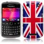 Funda Tapa Acrilica Blackberry 9360 9350 Bandera Inglaterra