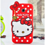 Funda Silicona 3d Hello Kitty + Film Samsung Galaxy A3