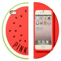 Fundas 3d Iphone 5 5s Victoria´s Secret Pink Sandia Anana