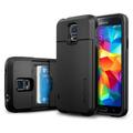 Funda Sgp Slim Armor Tarjeta Samsung Note 3 S5 S4 Flip +film