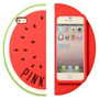 Funda 3d Victoria Secret Samsung S4 S5 Pink Sandia Anana