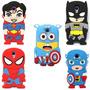Funda Samsung S4 Mini Superman Batman America Minion Spider