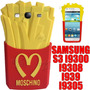 Funda Moschino Samsung S3 I9300 Silicona 3d Papas Fritas