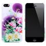 Funda Acrilico Diseño Flores Iphone 4 4s Envio Promo Cap