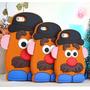 Funda Silicona 3d Mr Potato Papa Toy Story 5 5s 6 6s Plus
