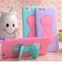 Funda Samsung A7 Importada Con Moño Hello Kitty Tpu