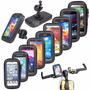 Soporte Bicicleta Moto Celular Gps Ipod + Funda Impermeable