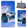 Funda Cuero Flip Cover Case Stand Nokia 535 Muy Lindas !!!