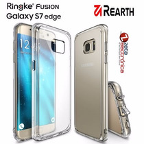 Funda Ringke Fusion Samsung Galaxy S7 Edge Anti Impac+film