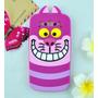 Funda Silicona Animada Gato Alicia Cheshire Cat Samsung A3
