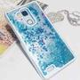 Funda Agua Brillos Estrellas Huawei Mate 7 + Templado