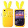 Funda De Silicona P/ Blackberry 8520 Y 9300curve Conejo