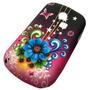 Funda Tpu Laser Samsung S3350 Flores Envio Gratis Cap
