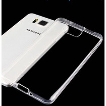Funda Tpu 0.3mm Transparente Slim + Film Vidrio Alpha G850