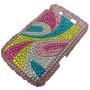 Funda Tapa Acrilica Blackberry 9800 9810 Brillos Strass