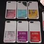 Funda Acrilico Agua Brillos Esmalte Iphone 5 6 6s Plus