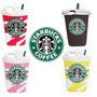 Funda Silicona Animada 3d Iphone 6/6s Vaso Starbucks