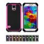 Funda Samsung Galaxy S4 Silicona Acrilico - Varios Colores