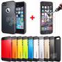 Funda Spigen Slim Armor Iphone 4 4s 5 5s 6 6 Plus + Templado
