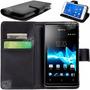 Estuche Agenda Sony M4 Aqua Z4 Xperia E Funda Tarjetero Film