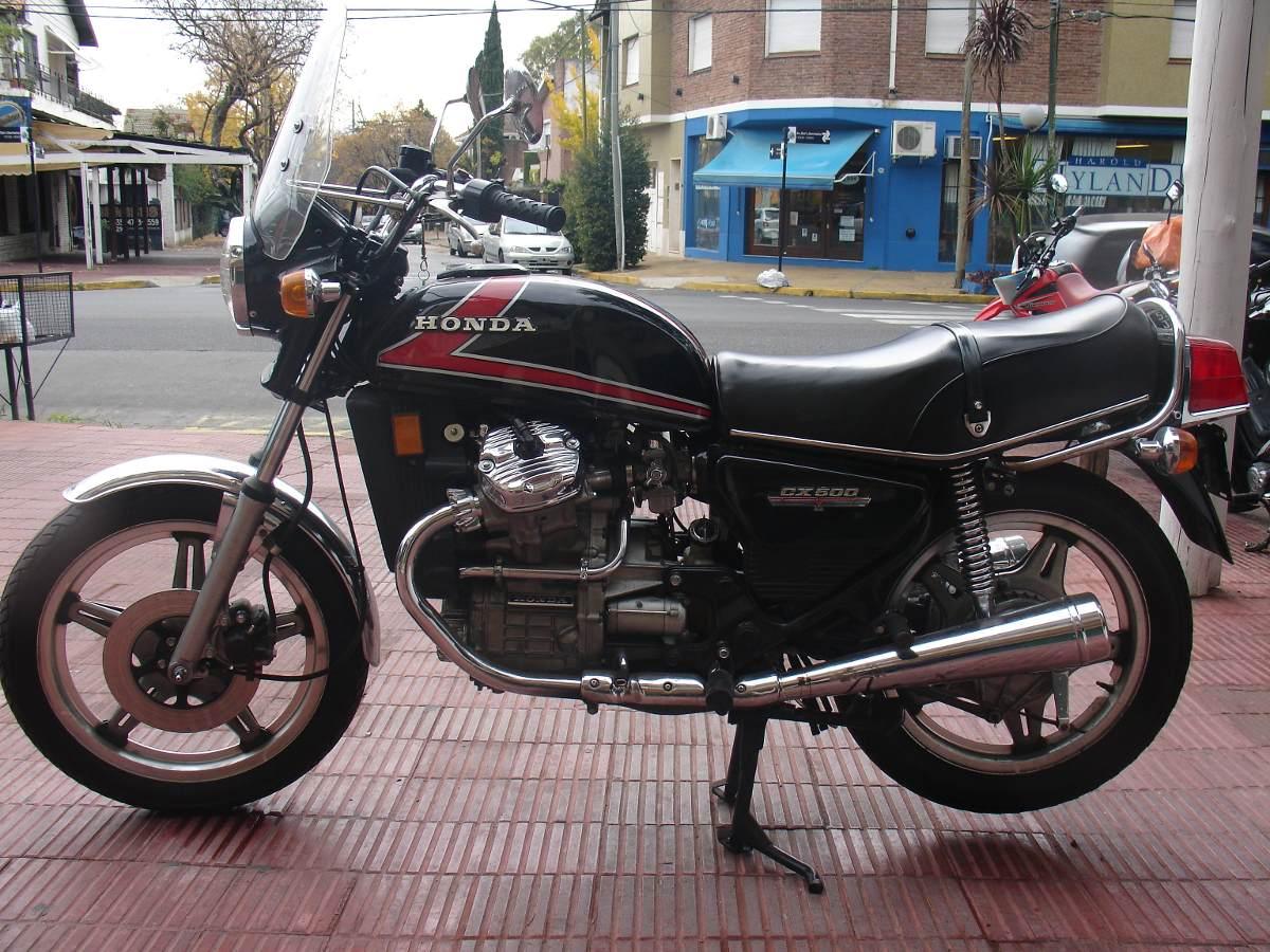 Honda Cx 500 Año 1978 Impecable Toda Original - Año