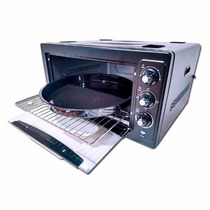 Horno Electrico Ken Brown 47 Lt Con Conveccion + Pizzera