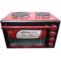 Horno Electrico Ultracomb 40lts 2 Anafes Uc40ac Conveccion
