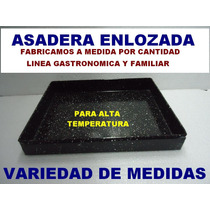 Asadera Panaderia Set X 6 Pzs Latera 26x39 Chapa Enlozada