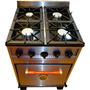 Cocina Industrial Familiar 4h 60cm. Directo De Fabrica