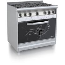 Cocina Morelli 900 Style Inox Encendido Reja Vitrificada