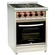 Cocina Industrial Morelli 60 Cm Inoxidable Visor Oferton Aca
