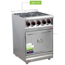 Cocina Industrial Morelli 55 Cm Inoxidable Ciega Oferton Aca
