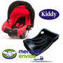 Huevito Bebe Kiddy Para Auto + Base Y Reductor, Baby Ride