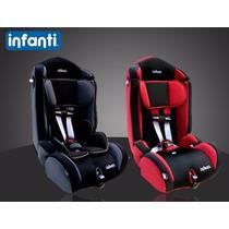 Butaca Auto P/niños Booster Infanti V7 Hasta 36kg Reclinable