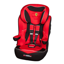 Butaca Booster Ferrari F91 9 A 36 Kg Apoya Cabeza Reg Alarma