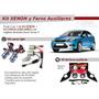Combo Focus 2 De Kit Faros Auxiliares + Equipo Xenon