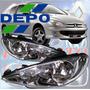 Optica Peugeot 206 Biparabola Doble Parabola Importada