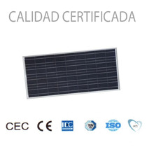 Panel Solar 12v 100w Fotovoltaico Policristalino Con Cables