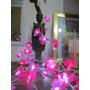 Guirnalda De Luces 4mts Luz Led Fria Con 40 Flores