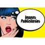 Imanes Publicitarios Full Iman Y Full Color Laminados X100u.