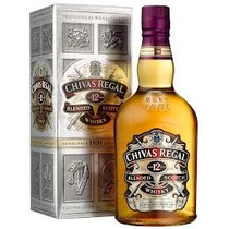 Whisky Chivas Regal 12 Años 1000 Ml En Estcuhe