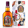 Whisky Chivas Regal 12 Años En Lata Regalo Importado Escoces